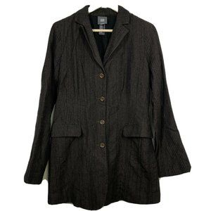 Lilith Blazer Jacket S Small 38  Button Front Ladi